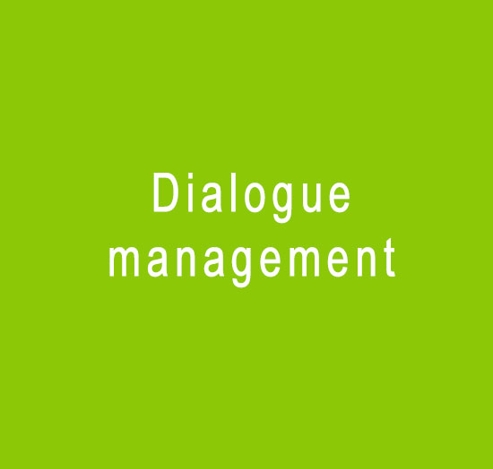 Dialogue-management