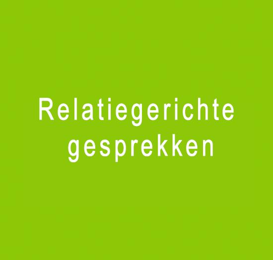 Relatiegerichte gesprekken